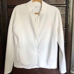 Lululemon Embrace the Space White Jacket Size 10